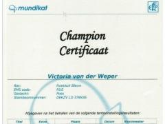 Kampioens certificaat Victoria von der Weper.jpeg