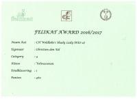 Felikat Award 2016-2017